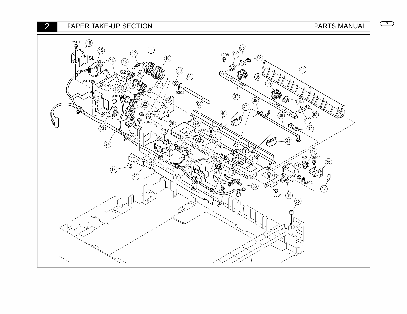 Konica-Minolta Options PF-108 110 Parts Manual-3